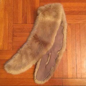 Zara Shawl Faux Fur Scarf *Worn Once*